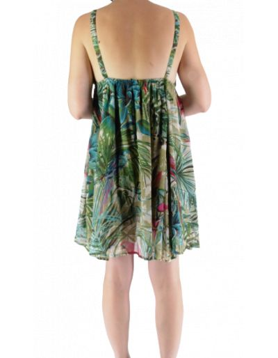 SCHOOL RAG - Robe courte tropical