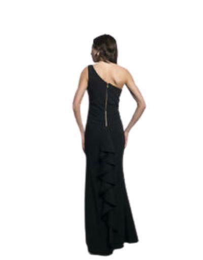 FRANK LYMAN - Robe longue de cocktail, noire