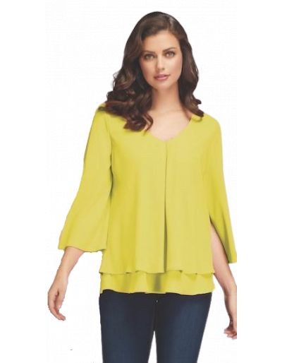 FRANK LYMAN - Blouse Lemon