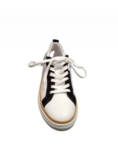 ONE STEP - Sneakers blanc/léopard