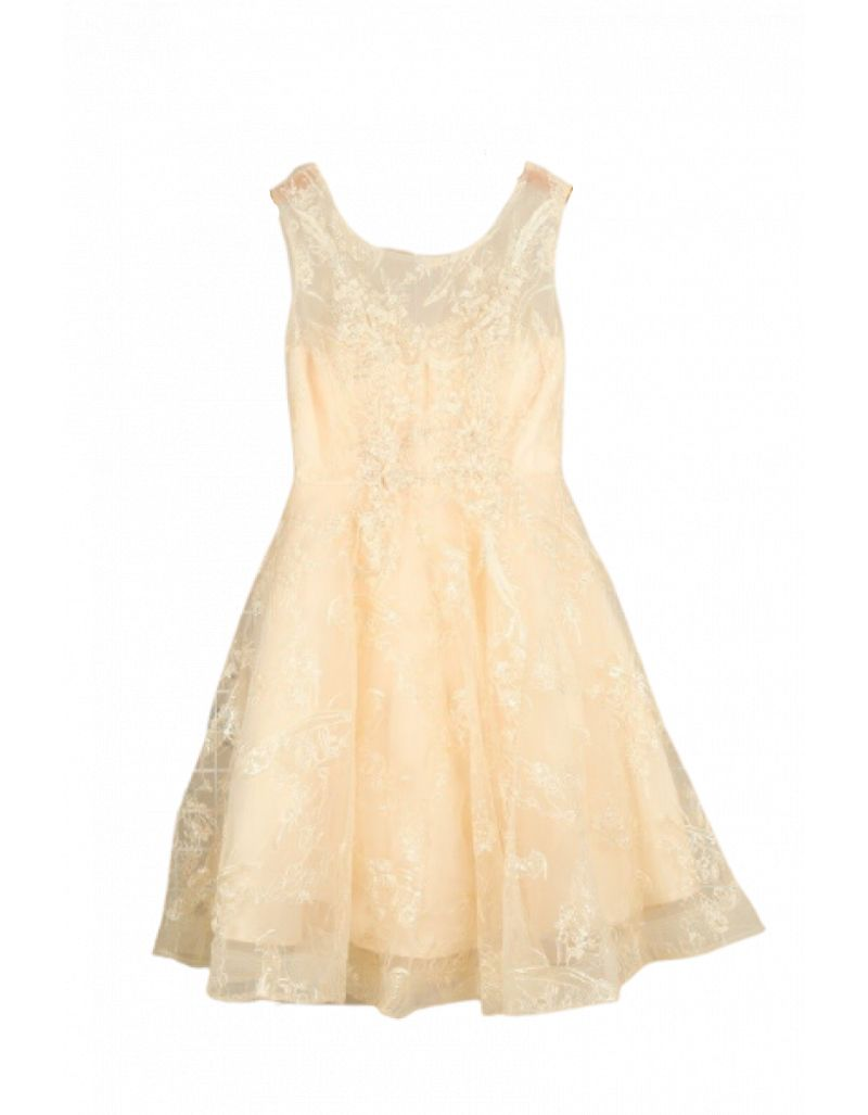 Robe courte de cocktail, Champagne