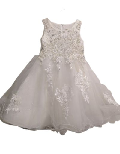Robe de cérémonie blanche,...