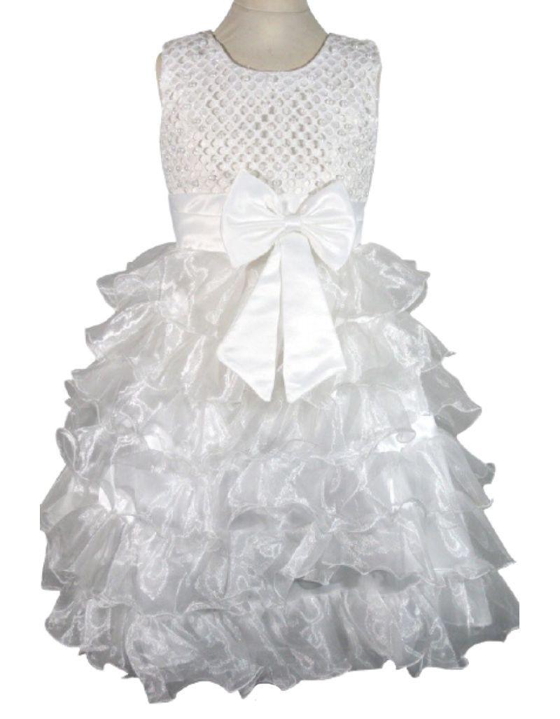Robe de cérémonie blanche, enfant