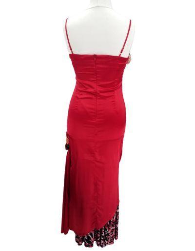 Robe de cocktail, rouge