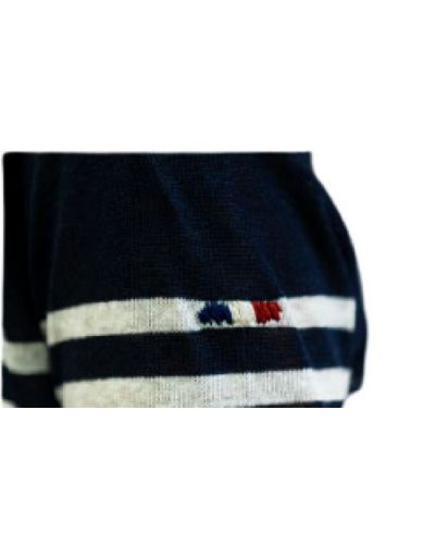 LA MARINIERE FRANCAISE - Tee-shirt marine/blanc, Marguerite