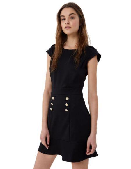 LIU.JO - Robe courte noire...