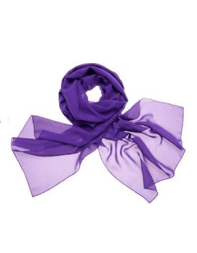 Etole en mousseline, violet