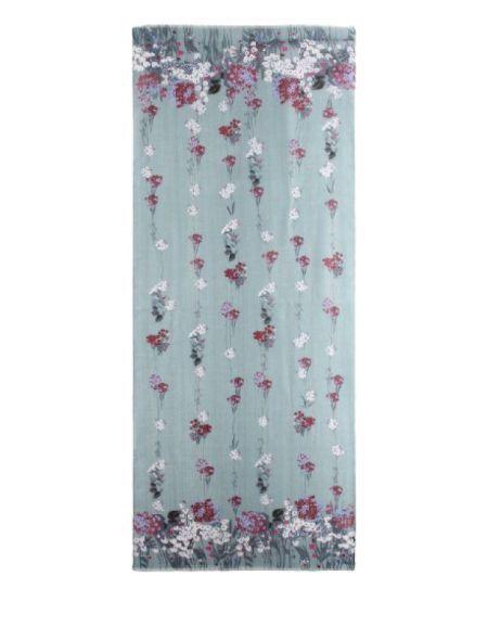 LIU.JO - Etole bleue avec imprimé à fleurs