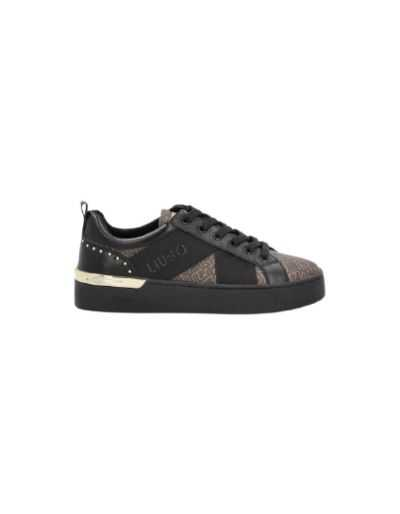 LIU.JO SPORT - Sneakers noirs avec logo monogramme