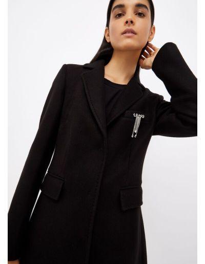 LIU.JO - Manteau noir avec...