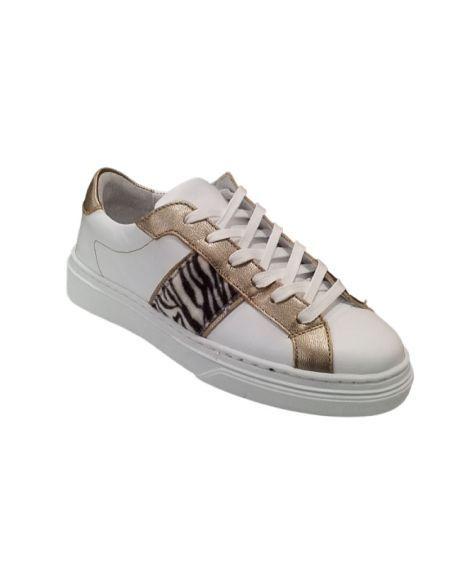 ONE STEP - Sneackers blanches en cuir, Oleg